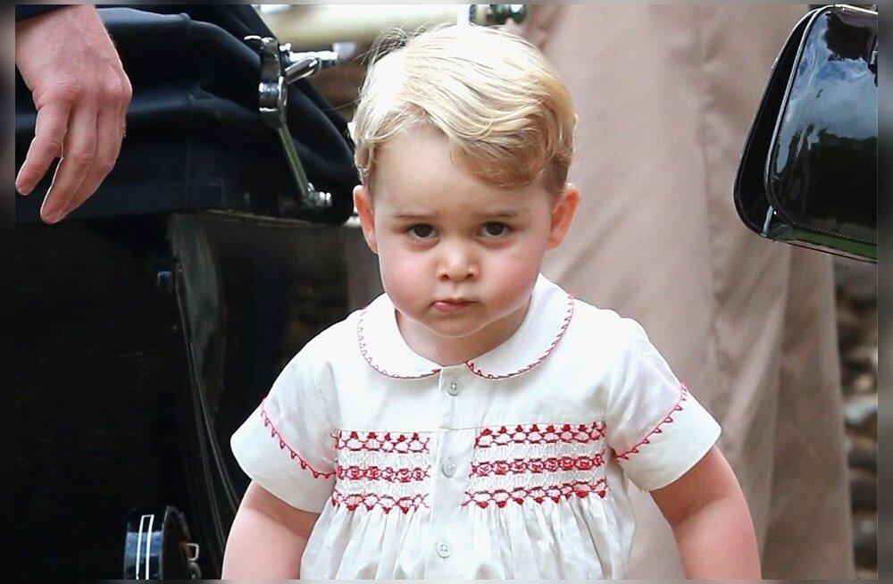 George sai endale magusa teisiku: Isehakanud pagar küpsetas printsist elusuuruses koopia