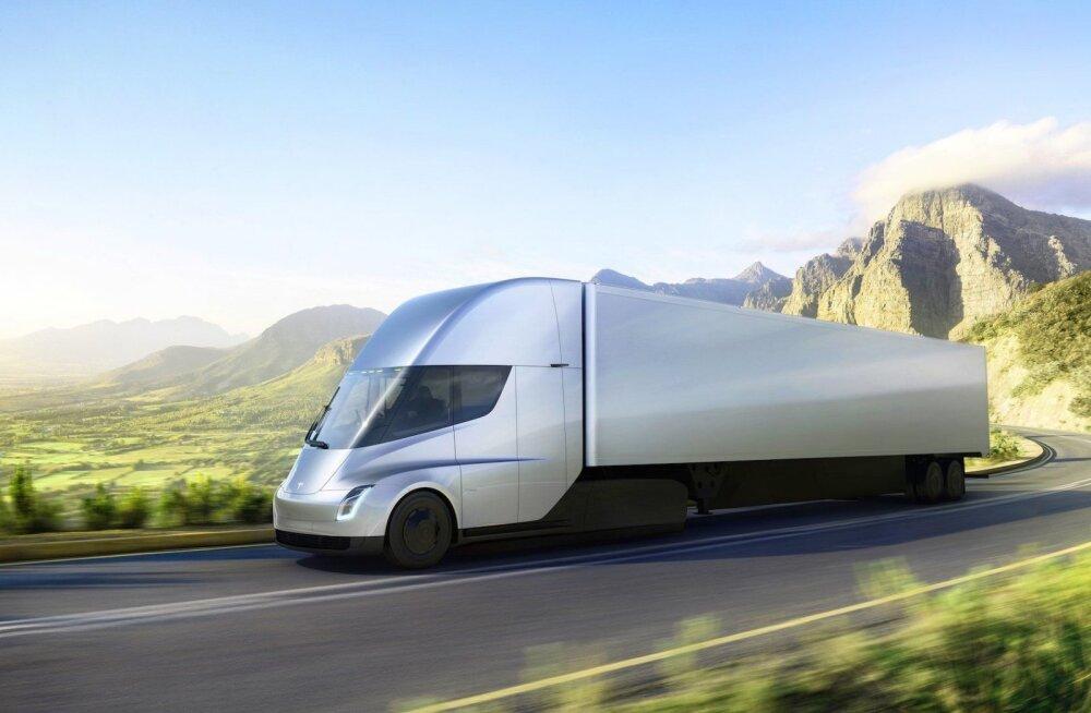 Veokijuhid ei ole Tesla Semist vaimustuses: liiga võimas, liiga lühikese sõiduulatusega!