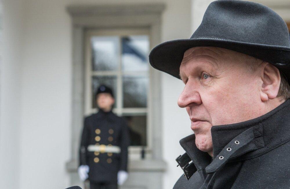 Mart Helme käis Eest Vabariigi presidendi juures