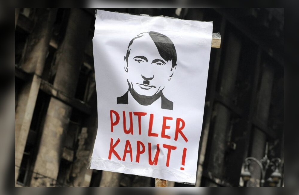Krimmi <em>anschluss</em>: Kas Putin on tänase maailma Hitler?