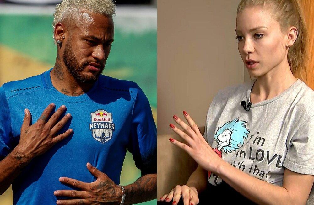 Neymar ja Najila Trindade