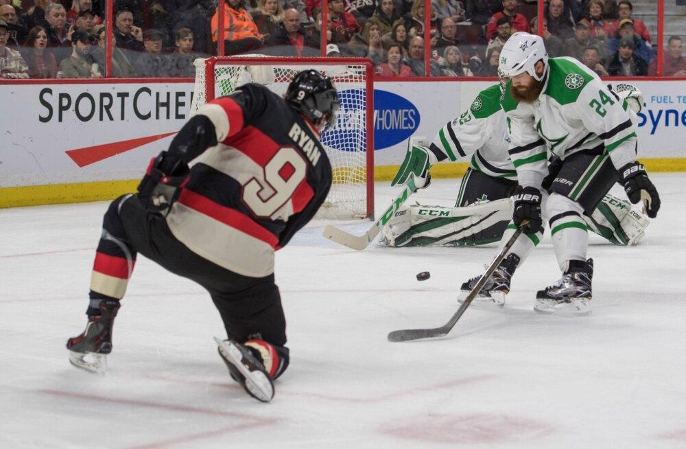 NHL-i kohtumine Ottawa Senators - Dallas Stars