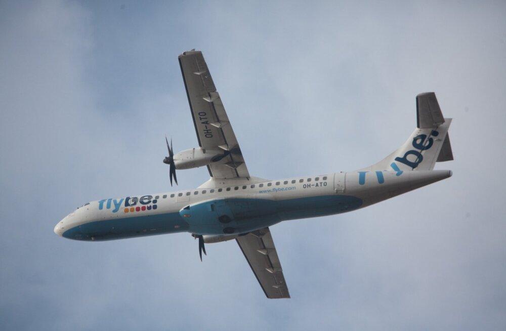 Lennukid Tallinna Lennujaamas