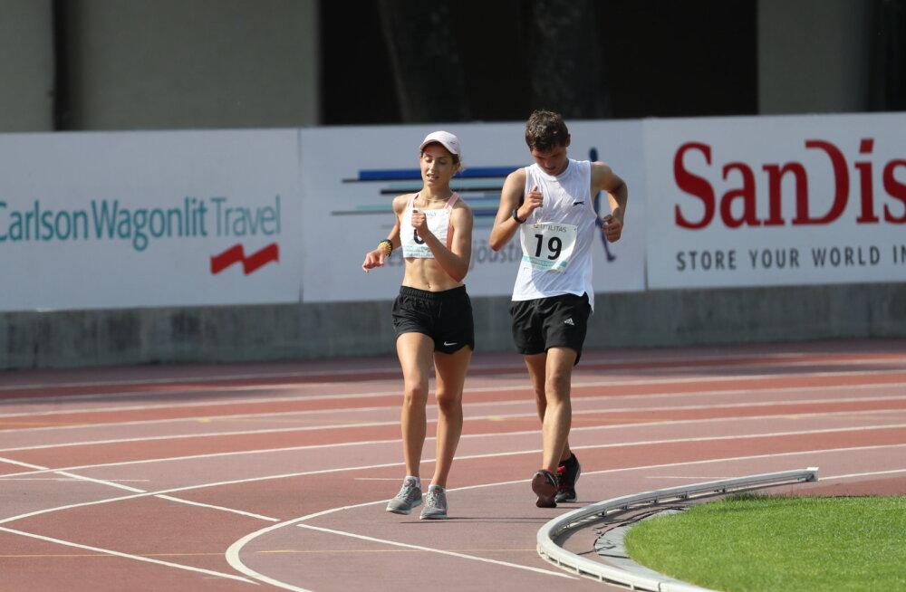 15aastane Mirotvortseva jättis mitu meest selja taha ja parandas Eesti rekordit
