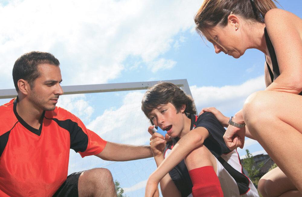 Kas astmahaige võib teha sporti?