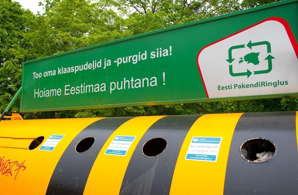 Pakendite kogumine läheb maksma üle 10 miljoni euro