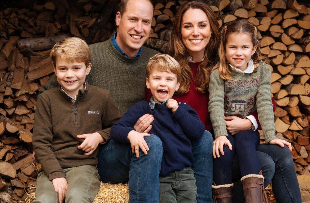 Ei ole kerge ka kuninglikel: Kate Middleton avaldab, et pandeemia ajal lapsevanemaks olemine on mõjunud talle kurnavalt