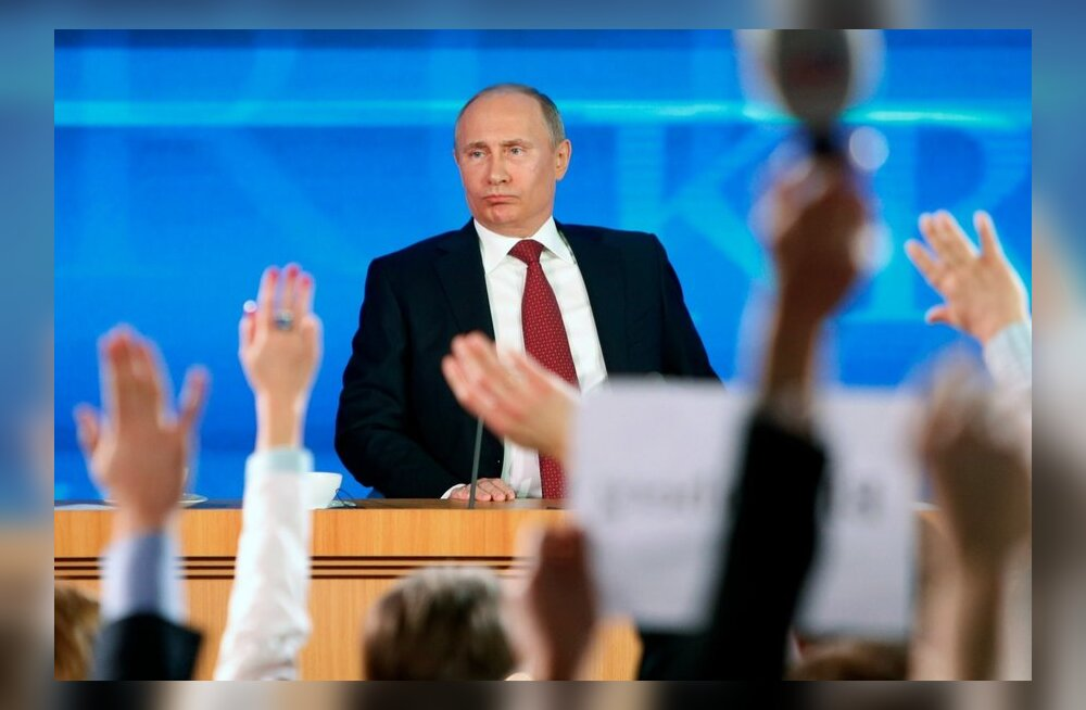 Putinile esitati juba enne saadet üle miljoni küsimuse