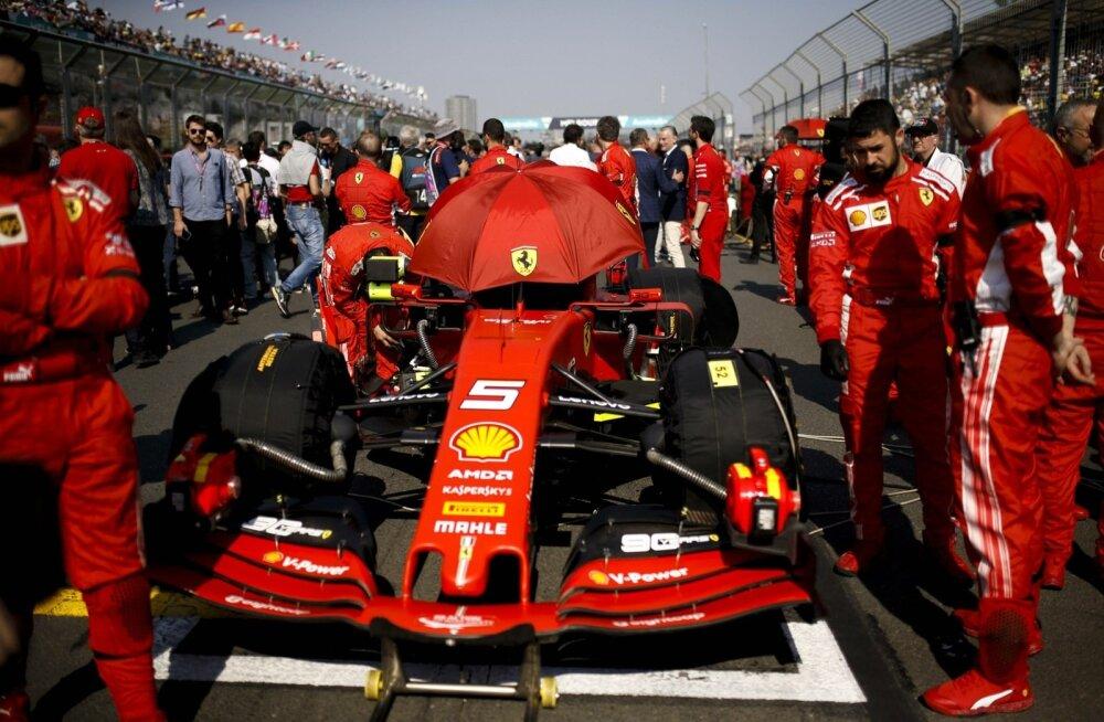 Austraalia GP-l tõmmati Ferrarile müts sügavalt silmile.