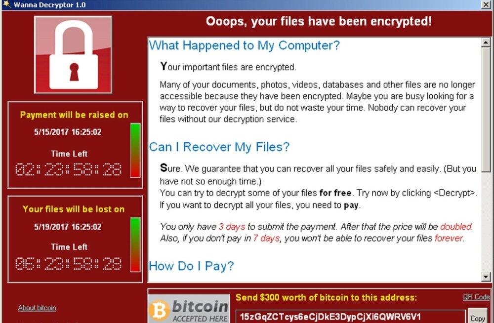 USA süüdistab WannaCry küberrünnakus otseselt Põhja-Koread