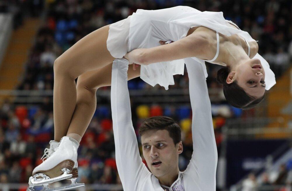 Natalja Zabijako ja Aleksandr Enbert