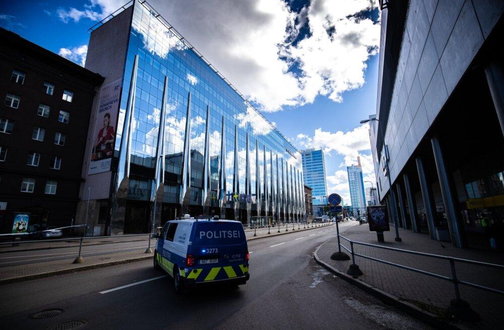 Tallink City Hotel pommiähvardus
