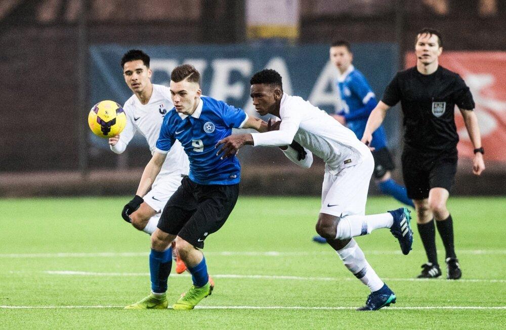 36defc4628d Eesti jalgpalli verinoor ründelootus liitub Saksamaa ...