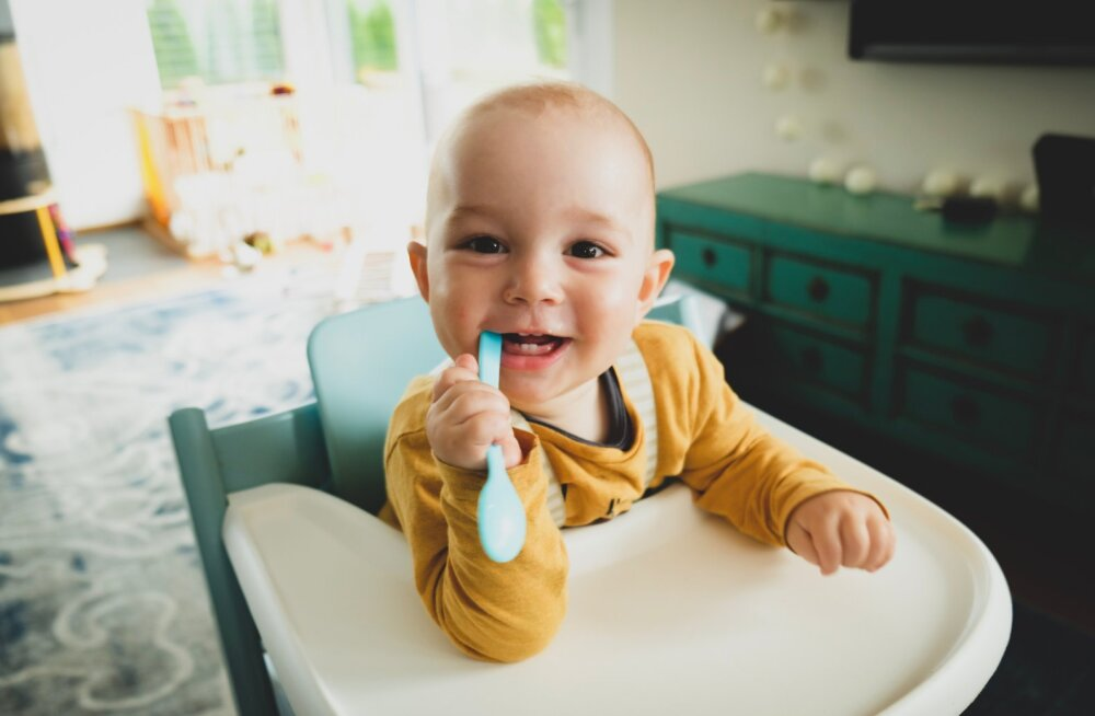Palju peaks beebi esimesel eluaastal tahket toitu sööma? Sugugi mitte nii palju kui arvatakse