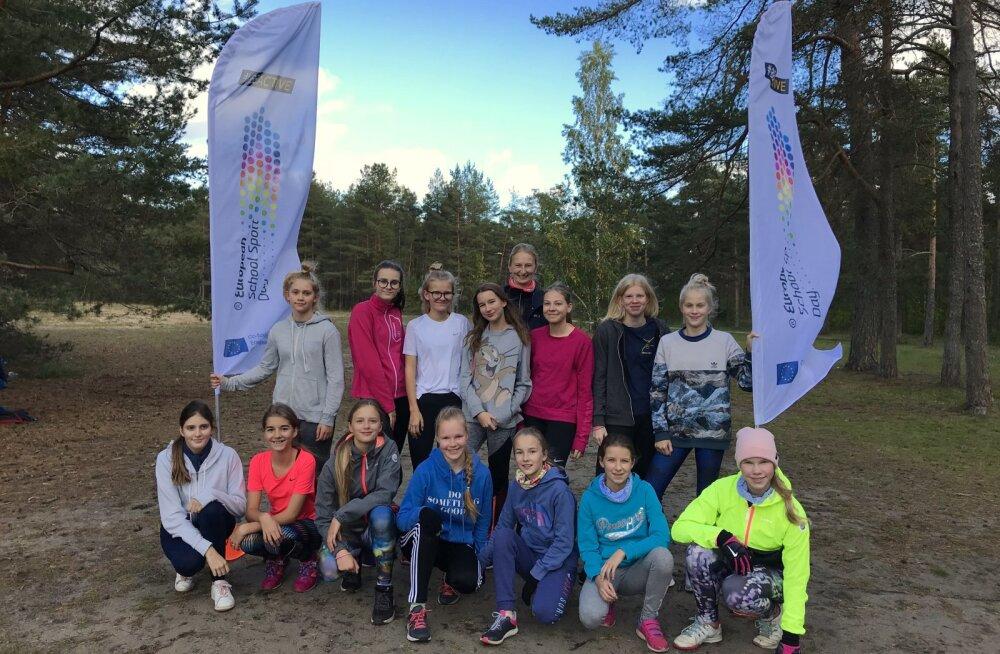 Üleeuroopaline koolispordipäev pakub osalejatele sportlikku meelelahutust