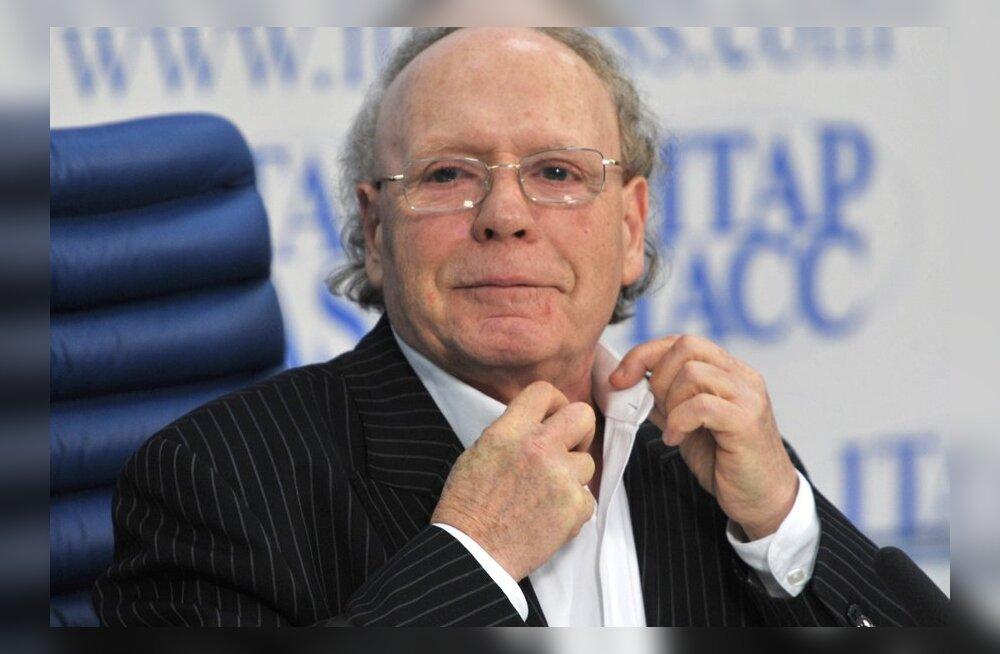 Edvard Radzinsky gives news conference