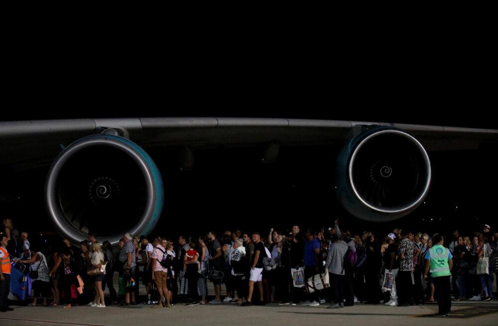 Pankrotistunud Thomas Cooki kliente šokeerivad järsult tõusnud lennupiletite hinnad