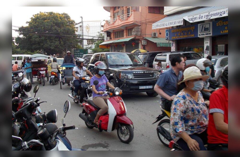 Reisikiri Kambodžast, 23. osa: olukorrast teedel ja tänavatel