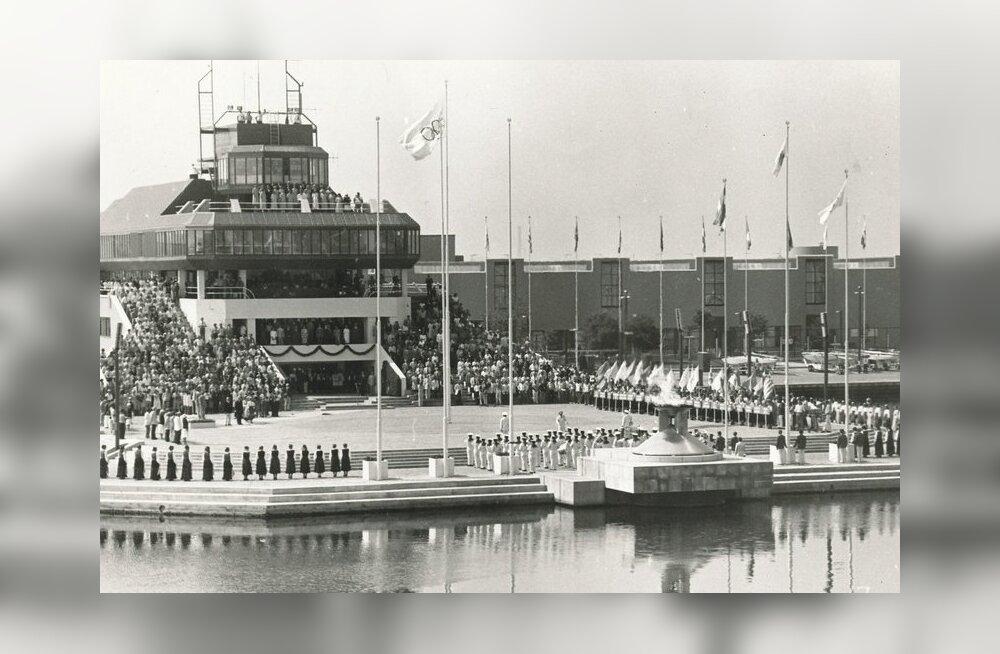 Moskva olümpia purjeregati avamine