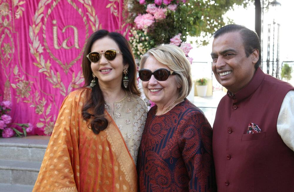 India jõukaim mees Mukesh Ambani kulutas kuuldavasti oma tütre pulmade peale lausa 88 miljonit eurot