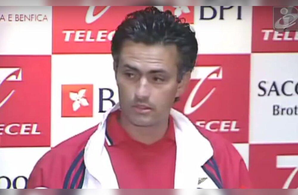 Mourinho kohtub täna klubiga, mille treeneripingil ta karjääri alguses vaid kolm kuud vastu pidas