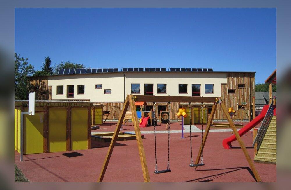 Eesti esimene ülimalt energiasäästlik lasteaed avab uksed
