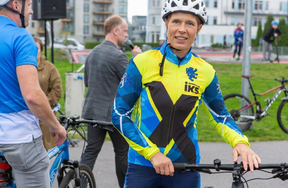 Kersti Kaljulaidi Pärnu rattatuur
