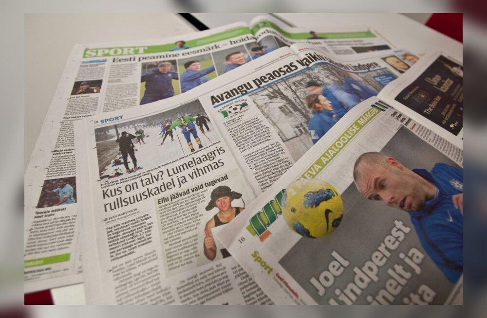 Irish Times: Jalgpall on Eesti spordikülgedelt suusatamise välja puksinud