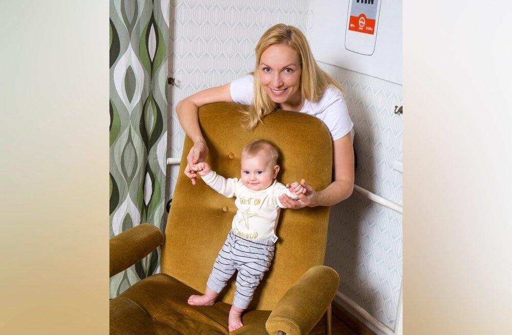 ETV toimetaja Laura Kõrvits käib beebiga tööl | Vanemad ei tohiks jääda tööst liiga kauaks eemale, sest siis on raske naasta