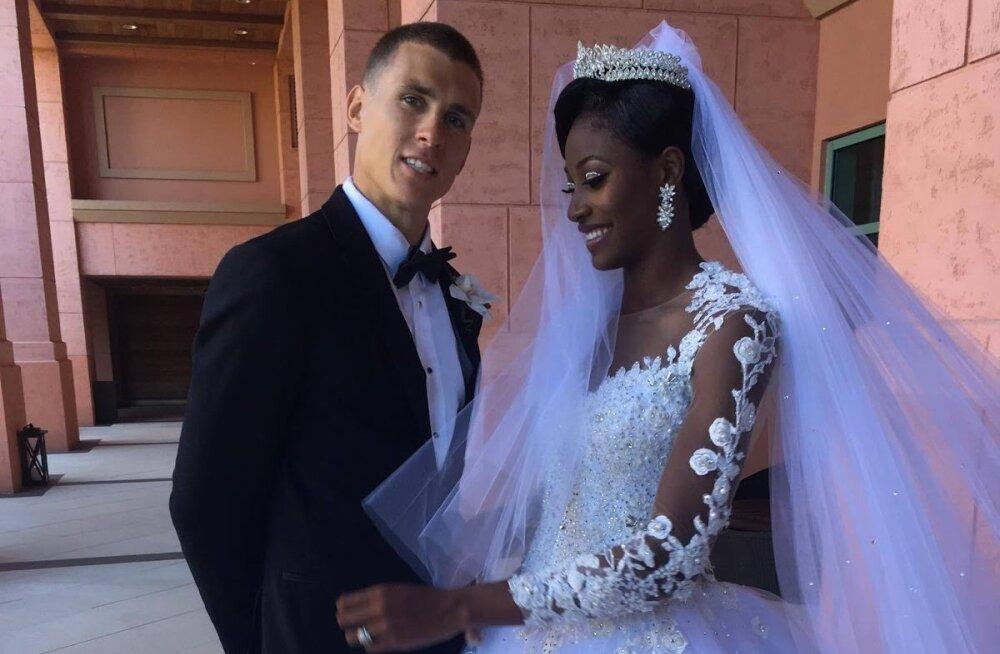PALJU ÕNNE! Maicel Uibo ja olümpiavõitja Shaunae Miller abiellusid