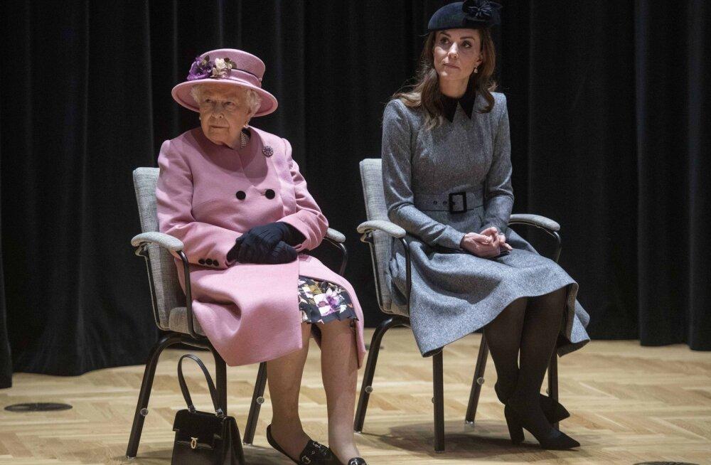 Kuninganna ja Kate Middletoni vahelised suhted pole just eriti soojad ning sel on väga huvitav põhjus