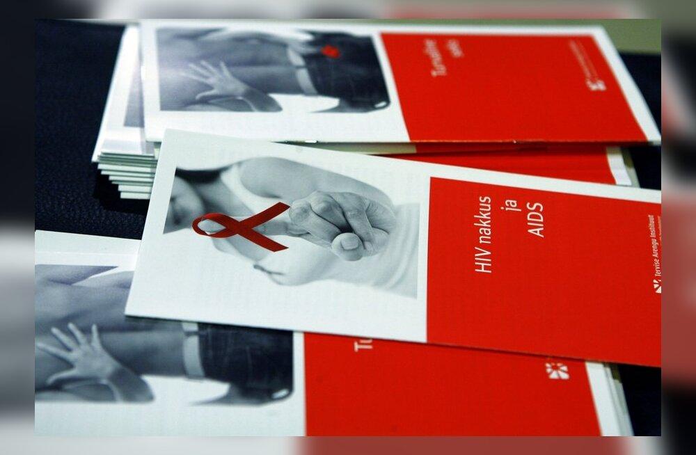 Riik kulutab 5330 eurot iga HIV-sse nakatunu kohta