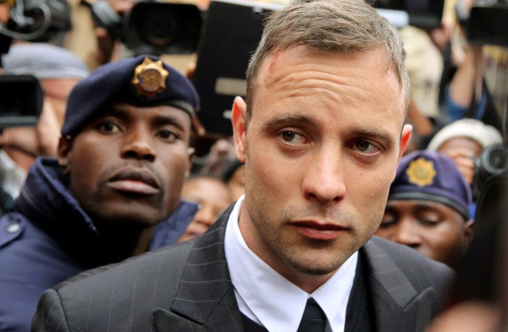 Elukaaslase tapnud Oscar Pistorius kardab vabadusse pääsemist