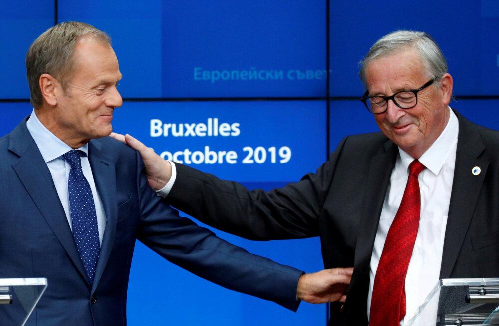 Euroopa Liit otsustas välkkohtumisel, et läheb edasi Johnsoniga sõlmitud Brexiti-leppe ratifitseerimisega