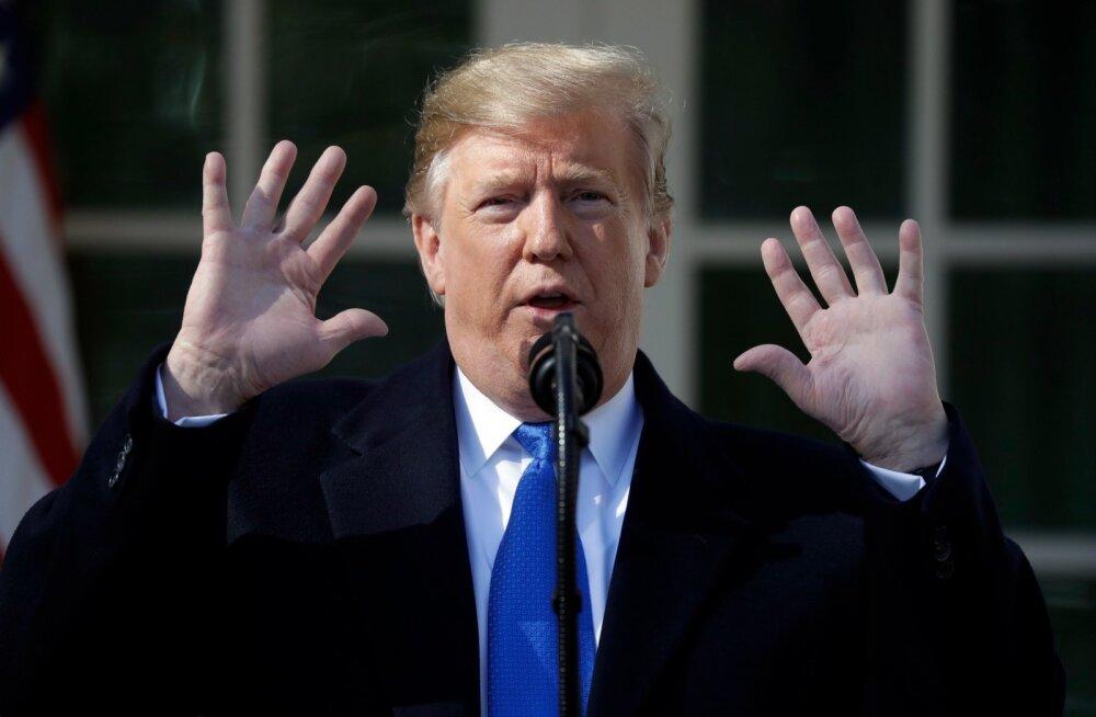 VIDEO | Trump teatas, et allkirjastab üleriikliku eriolukorra väljakuulutamise otsuse
