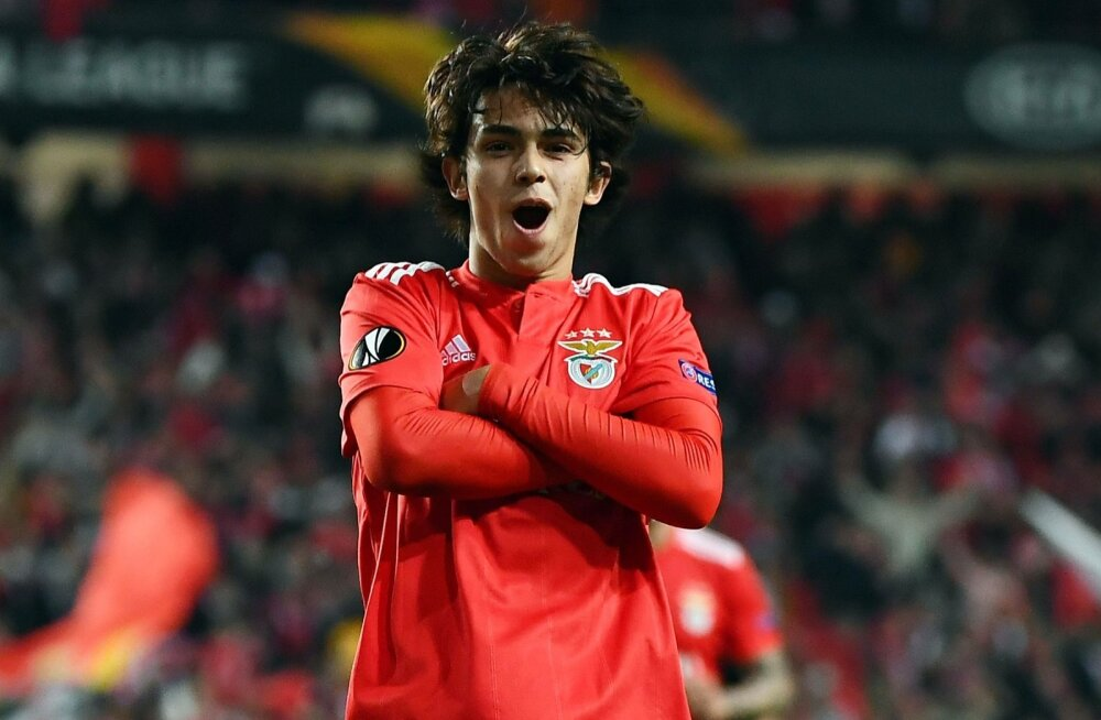 Joao Felix Lissaboni Benfica särgis.