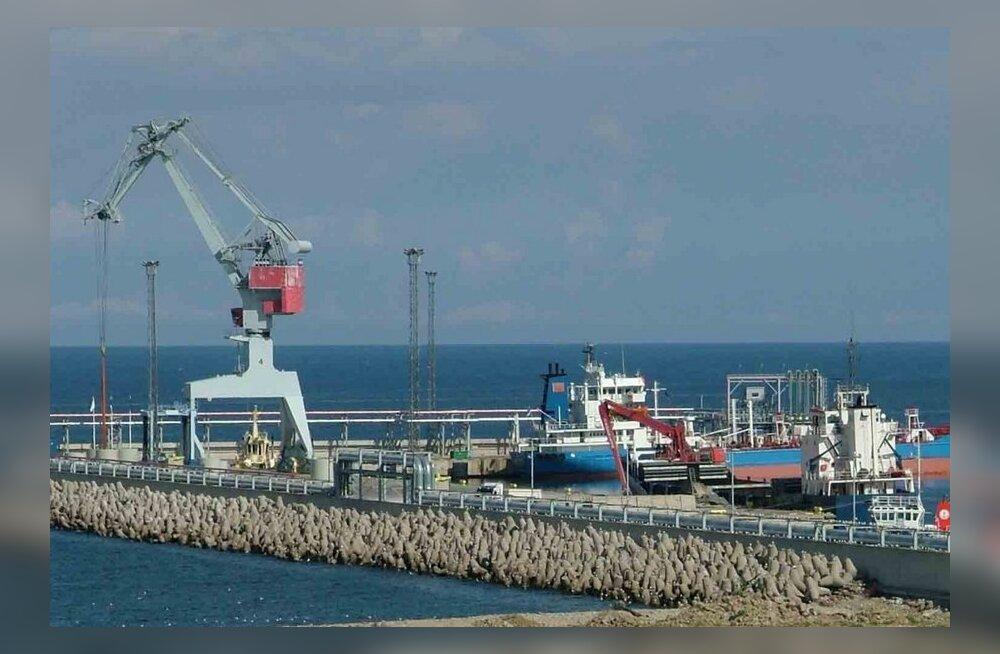 Eesti sadamate kauba- ja reisijatevedu suurenes 2011. aastal