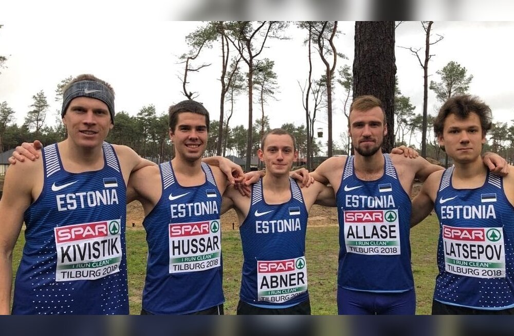 Murdmaajooksu EM-il 2018 võistelnud Eesti koondis