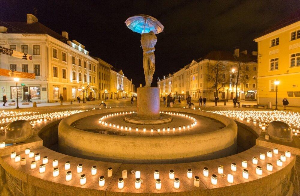 Märtsiküüditamise mälestamine Tartus