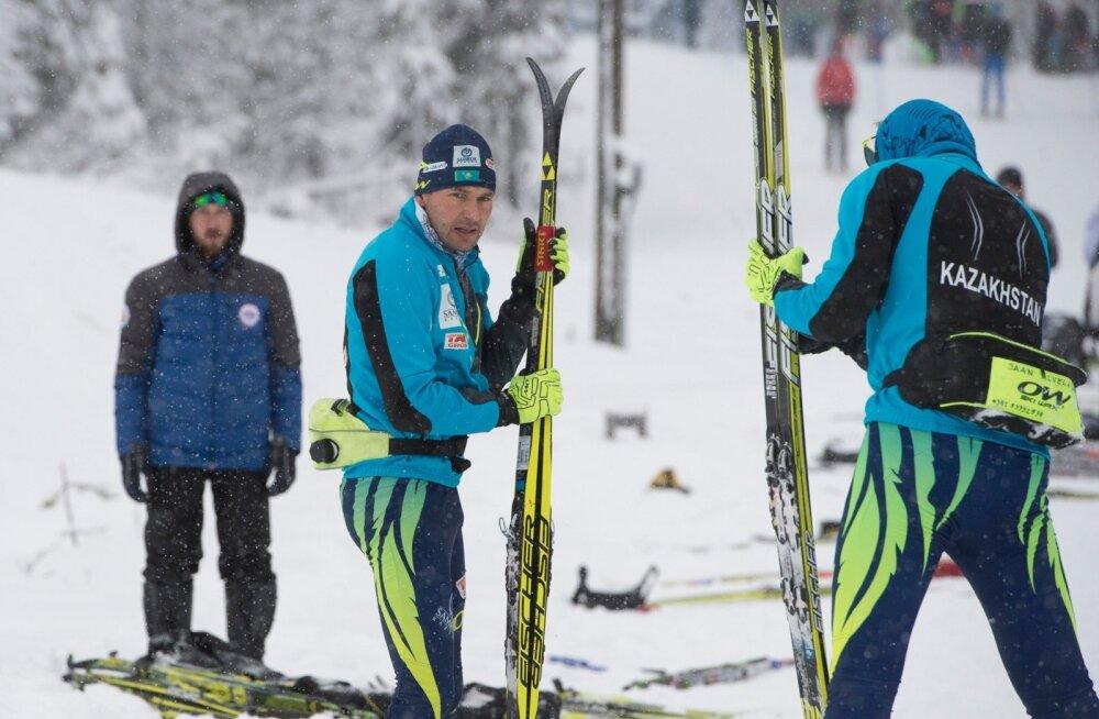 Eesti suusatajad Olose laagris