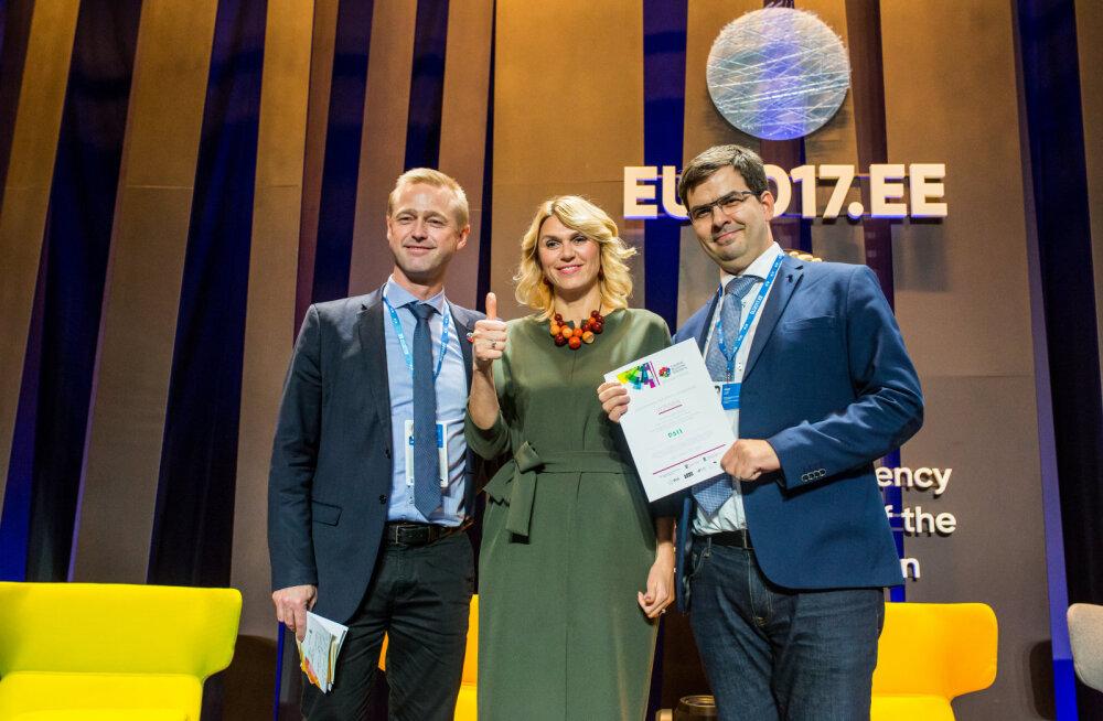 Üleeuroopalise e-valitsemise startup võistluse eGovernance Solutions võitis PSII