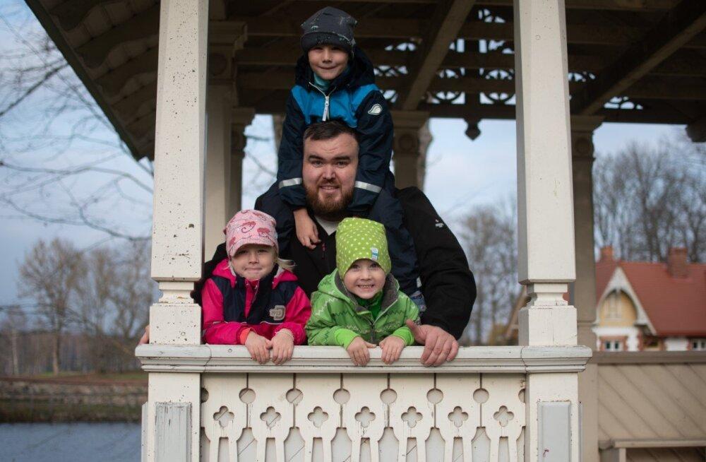Armastatud blogija Henry Jakobson isadepäevast: ma ei tahaks, et see oleks rutiinne päev nagu iga teine
