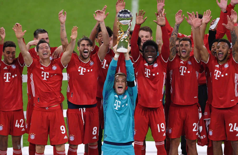 Meistrite liiga valitsev meister Müncheni Bayern