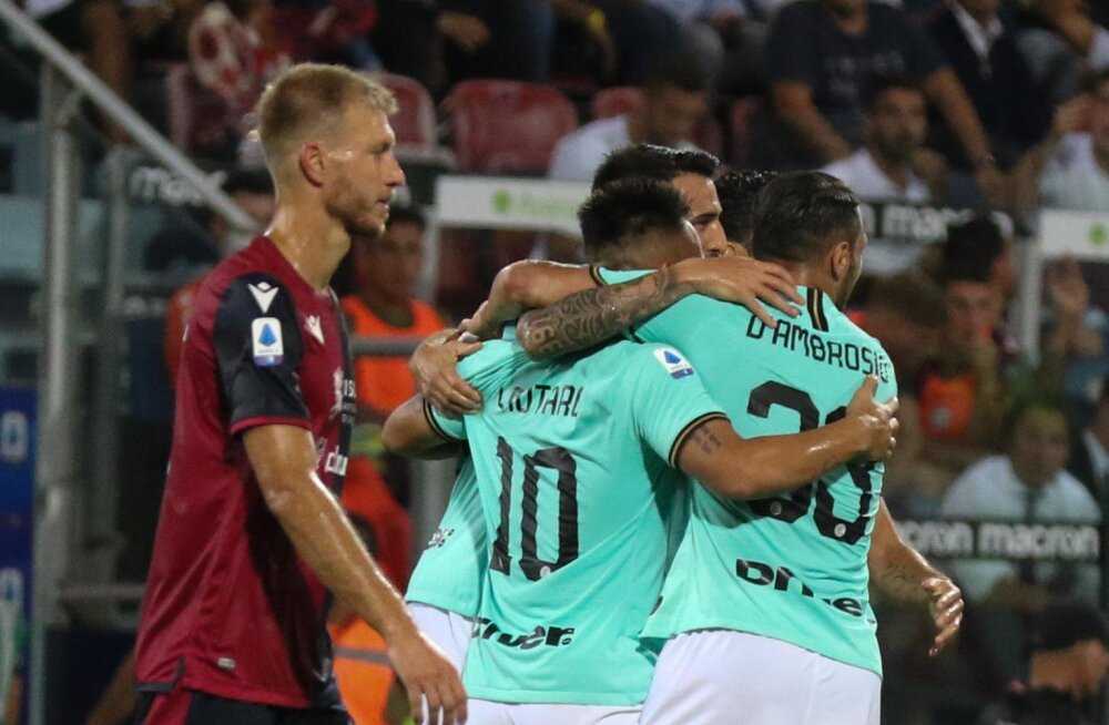VAR ja suluseisu piirilt löödud värav tõid Milano Interile Klavani vastu raske võidu