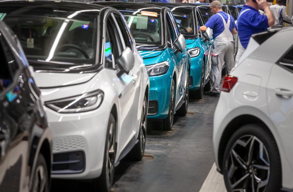 Volkswageni ID.3 eeltellijad saavad esimesed autod kätte septembris