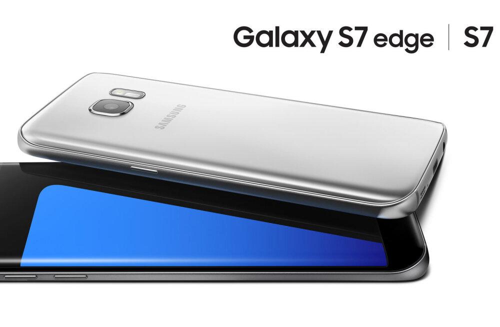 Samsung Galaxy S7 ja S7 Edge on mulluse telefoni kiiremad versioonid