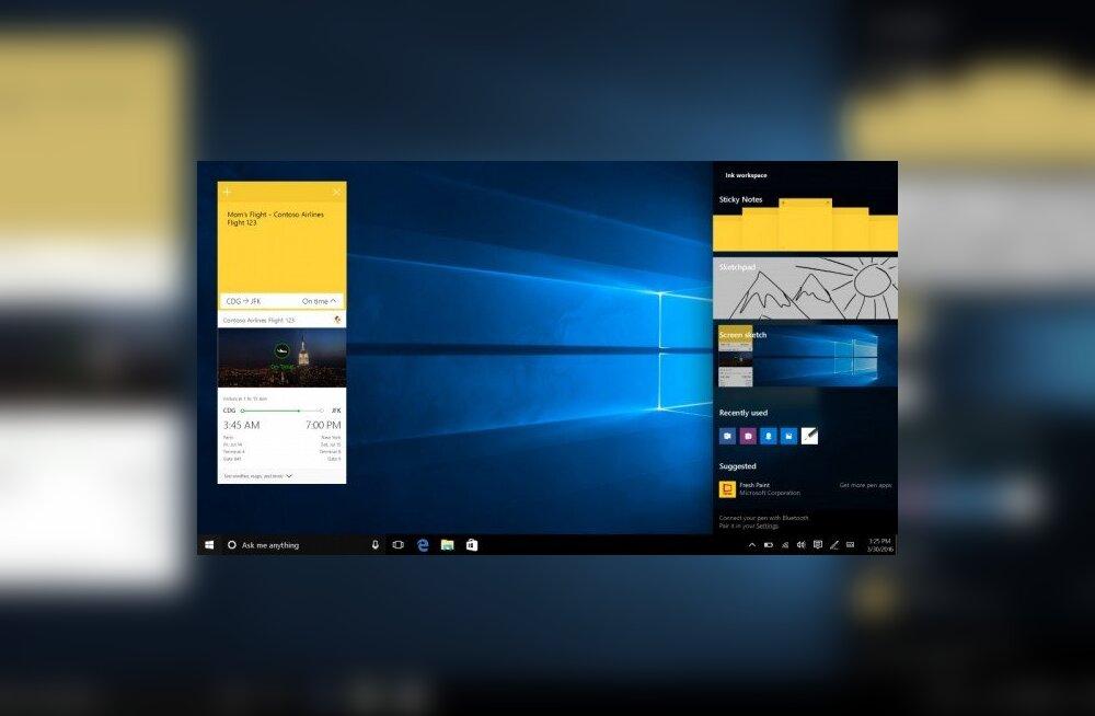 Windows 10 anomaalia nimetas osad kasutajad piraatideks