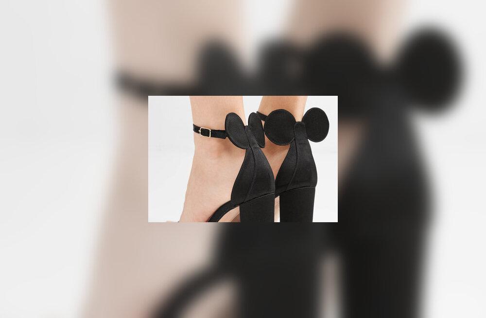Kas kannaksid selliseid Minni-Hiirest inspireeritud kingi?