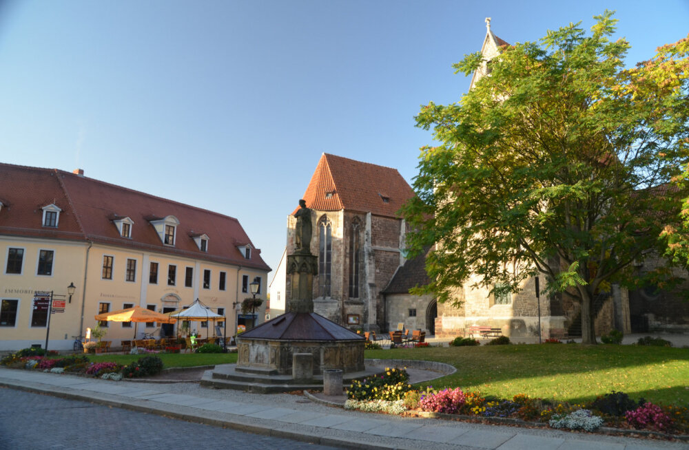 Наумбургский собор, или Где Уолт Дисней нашел свою королеву-мачеху
