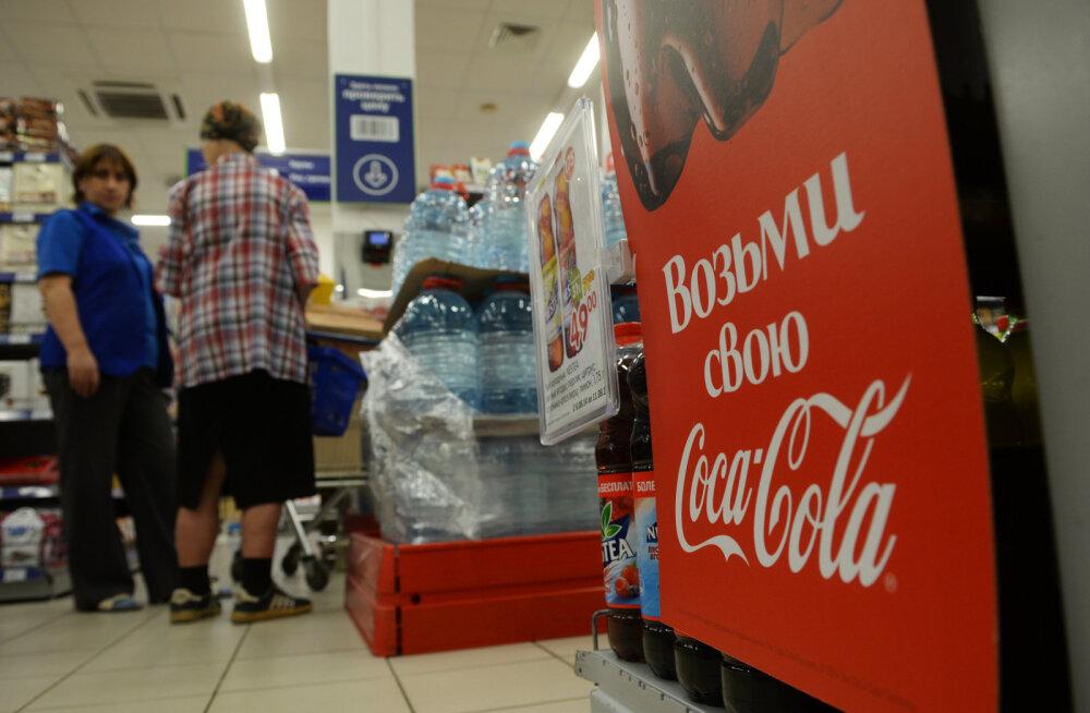 Riigiduuma saadik Dmitri Medvedevile: keelame Coca-Cola ja Pepsi!